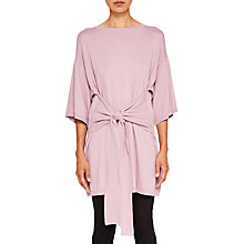 Buy Ted Baker Ted Says Relax Olympy Tie Front Knitted Tunic Dress Online at johnlewis.com
