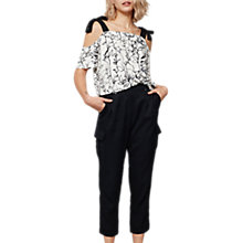 Buy Mint Velvet Cargo Sports Trousers Online at johnlewis.com
