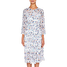 Buy Ted Baker Colour By Numbers Teca Printed Shirt Dress, Ivory Online at johnlewis.com