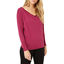 Buy Damsel in a dress Venna Sparkle Knit Jumper, Berry Online at johnlewis.com