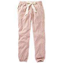Buy Fat Face Moon Cuffed Pyjama Bottoms, Soft Rose/Multi Online at johnlewis.com