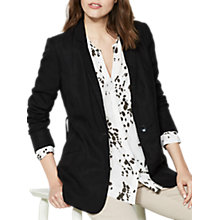 Buy Mint Velvet Boyfriend Blazer, Black Online at johnlewis.com