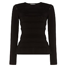 Buy Damsel in a dress Naida Cold Shoulder Jumper, Black Online at johnlewis.com