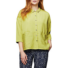 Buy East Pintuck Detail Pocket Shirt Online at johnlewis.com