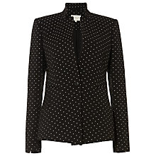 Buy Damsel in a dress Silvermist Blazer, Black/Ivory Online at johnlewis.com