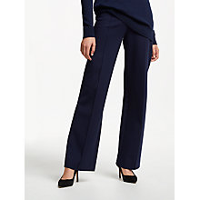 Buy Winser London Emma Miracle Trousers, Midnight Online at johnlewis.com