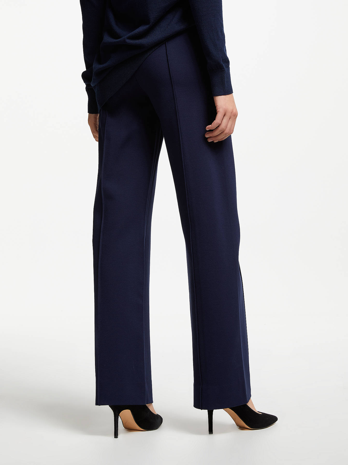 BuyWinser London Emma Miracle Trousers, Midnight, 6 Online at johnlewis.com