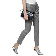 Buy Reiss Austin Slim Leg Tailored Trousers, Grey Online at johnlewis.com
