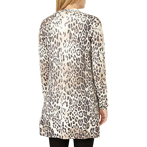 Buy Damsel in a dress Leopard Print Cardigan, Neutral Online at johnlewis.com