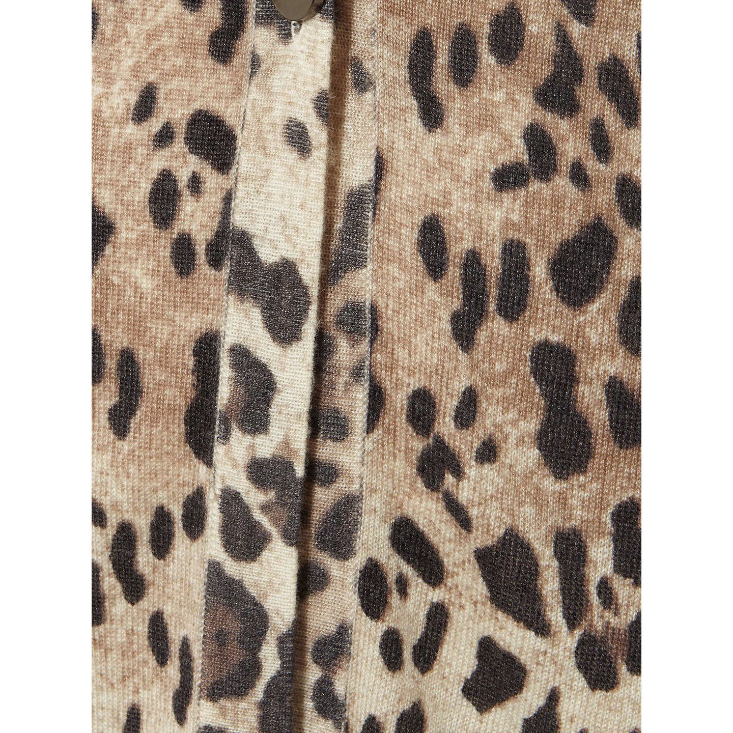 BuyDamsel in a dress Leopard Print Cardigan, Neutral, 8 Online at johnlewis.com