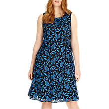 Buy Studio 8 Natalie Dress, Blue/Black Online at johnlewis.com