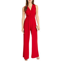 Buy Phase Eight Tia Sleeveless Jumpsuit, Scarlet Online at johnlewis.com