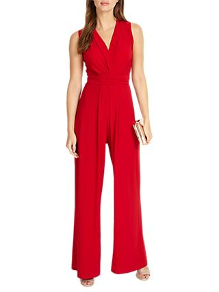 Phase Eight Tia Sleeveless Jumpsuit, Scarlet