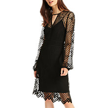 Buy Phase Eight Lorna Lace Dress, Black Online at johnlewis.com