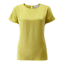 Buy Pure Collection Silk Satin T-Shirt Online at johnlewis.com