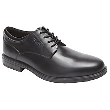 Buy Rockport Essential Details Plaintoe Leather Derby Shoes Online at johnlewis.com