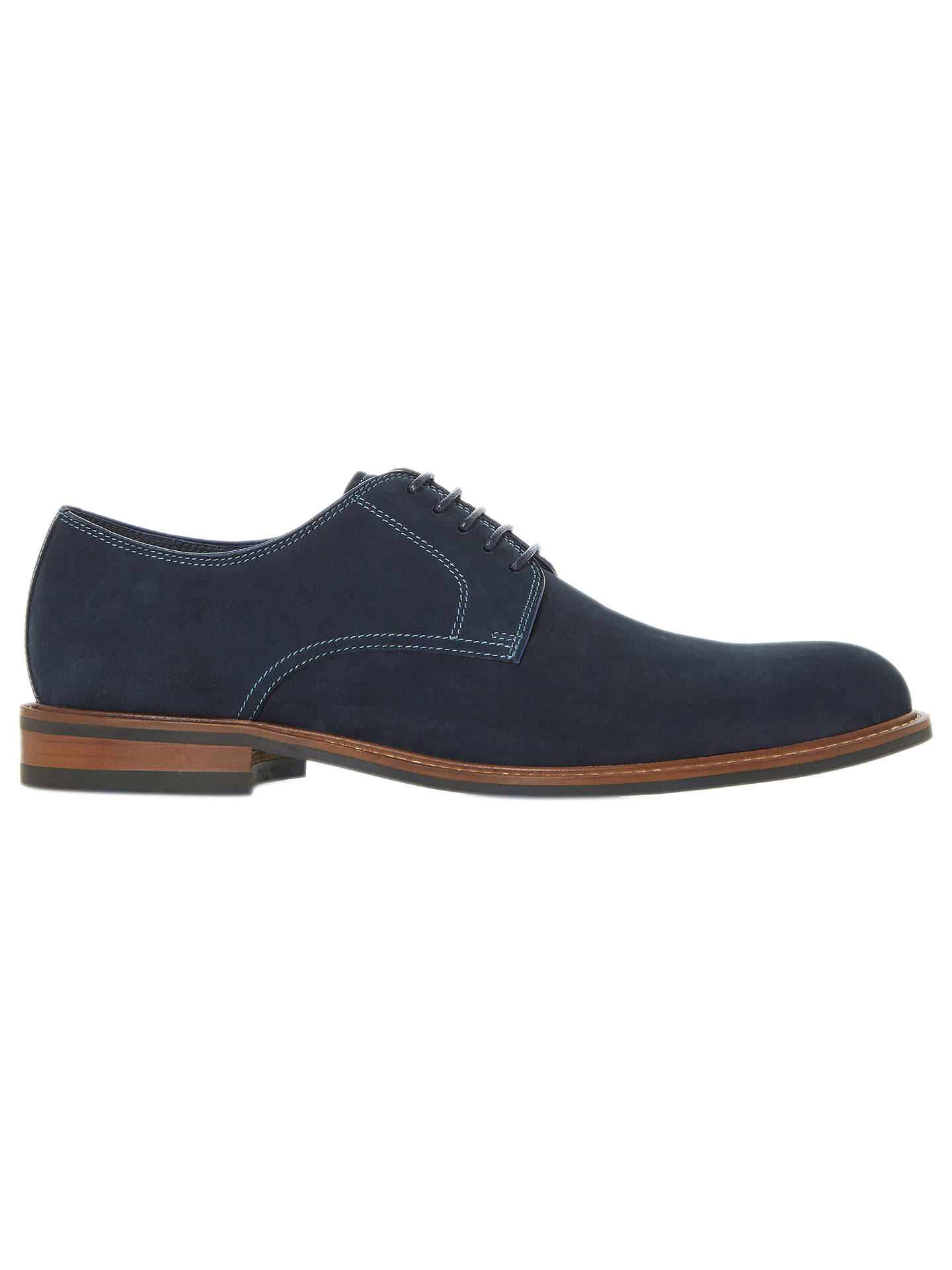 08a4120401e083 Dune Beethoven Suede Derby Shoes at John Lewis   Partners
