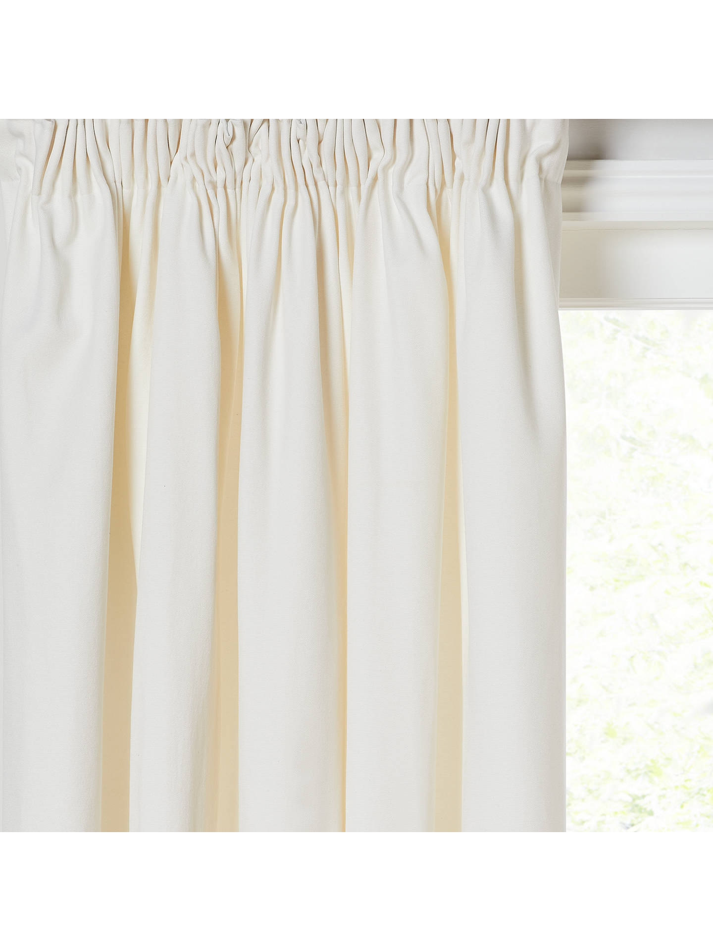 Buy House by John Lewis Arlo Pair Lined Pencil Pleat Curtains, Lily, W117 x Drop 137cm Online at johnlewis.com