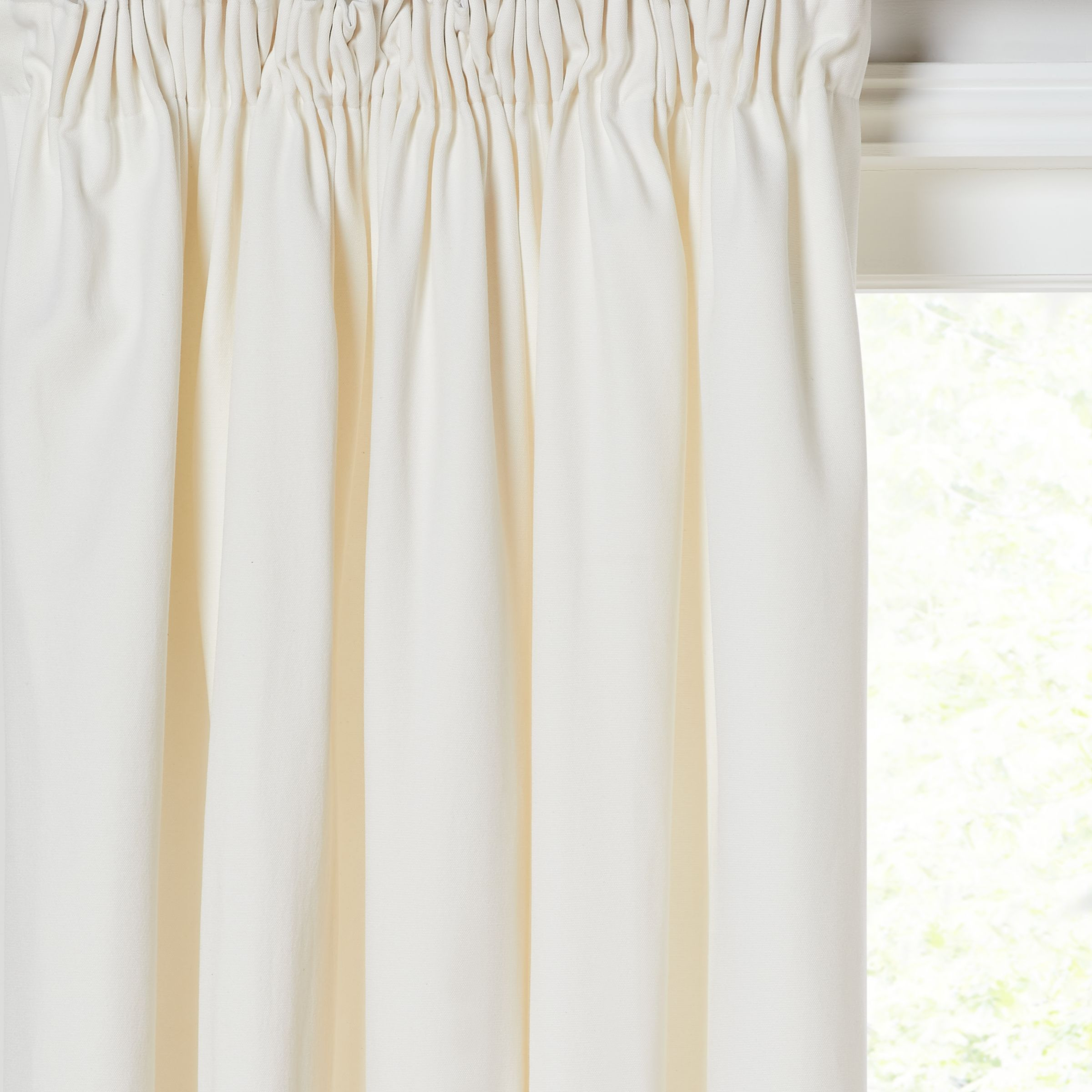 House by John Lewis House by John Lewis Arlo Pair Lined Pencil Pleat Curtains