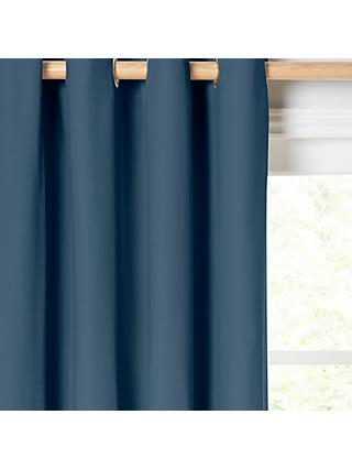 ANYDAY John Lewis & Partners Arlo Pair Lined Eyelet Curtains