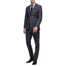 Buy Reiss Caine Wool Slim Fit Two Piece Suit, Airforce Blue Online at johnlewis.com