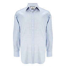 Buy Thomas Pink Ted Check XL Sleeve Classic Fit Shirt, Pale Blue/White Online at johnlewis.com