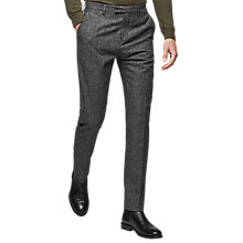 Buy Reiss Stow Slim Fit Suit Trousers, Grey Online at johnlewis.com