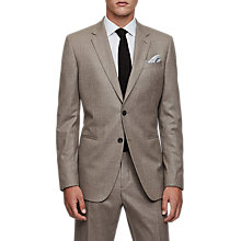 Buy Reiss Tuscan Super 120s Modern Fit Suit Jacket, Taupe Online at johnlewis.com