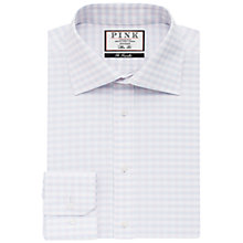 Buy Thomas Pink Helmsley Classic Fit Check Shirt, Pale Pink/Blue Online at johnlewis.com
