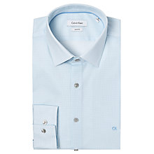Buy Calvin Klein Bari Geo Print Slim Fit Shirt, Blue Online at johnlewis.com