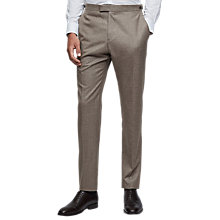 Buy Reiss Tuscan Super 120s Modern Fit Suit Trousers, Taupe Online at johnlewis.com