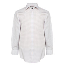 Buy Thomas Pink Helmsley Slim Fit Check Shirt, Pale Pink/Blue Online at johnlewis.com