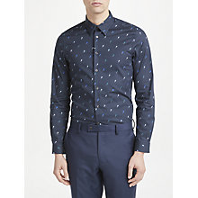 Buy PS Paul Smith Ice Lolly Tailored Fit Shirt, Navy Online at johnlewis.com