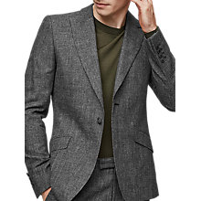 Buy Reiss Stow Slim Fit Suit Jacket, Grey Online at johnlewis.com
