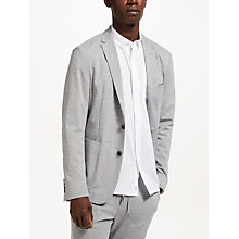 Buy Kin by John Lewis Athleisure Jersey Suit Jacket, Light Grey Online at johnlewis.com