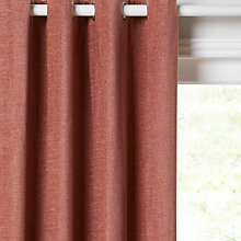 Buy John Lewis Chester Pair Lined Eyelet Curtains Online at johnlewis.com