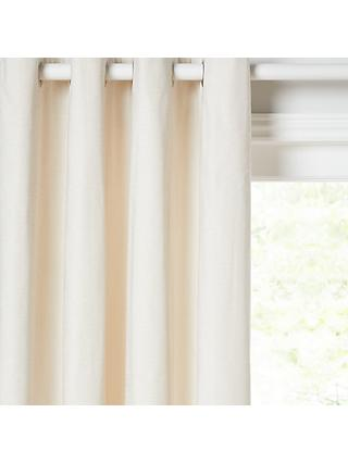 John Lewis & Partners Chester Pair Lined Eyelet Curtains