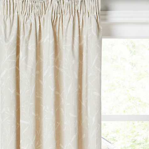 Buy John Lewis Evina Pair Lined Pencil Pleat Curtains Online At Johnlewis