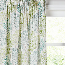 Buy John Lewis Leckford Trees Pair Lined Pencil Pleat Curtains Online at johnlewis.com