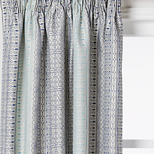 Buy John Lewis Mahal Weave Lined Pencil Pleat Curtains Online at johnlewis.com