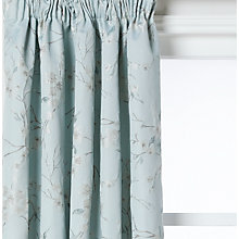 Buy John Lewis Misaki Weave Lined Pencil Pleat Curtains Online at johnlewis.com