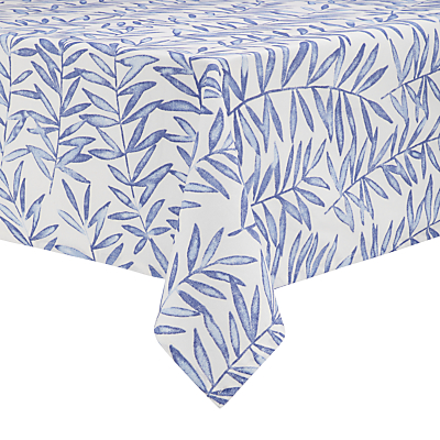 John Lewis Painterly Leaf Wipe Clean Tablecloth
