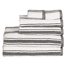 Buy John Lewis 6 Piece Cotton Towel Bale, Steel Online at johnlewis.com