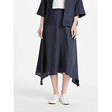 Buy John Lewis Linen Handkerchief Hem Skirt Online at johnlewis.com