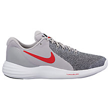 Buy Nike Children's Lunar Apparent GS Lace Up Trainers Online at johnlewis.com