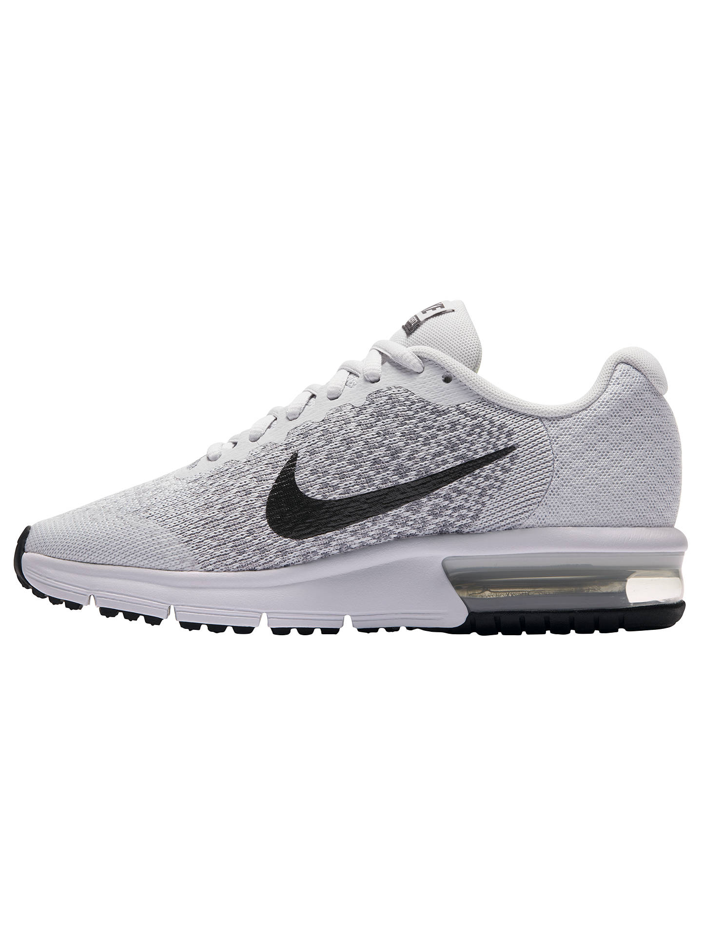 pretty nice b86d2 2dc1d ... cheapest buynike childrens air max sequent 2 trainers grey grey 3 online  at johnlewis. d72fe