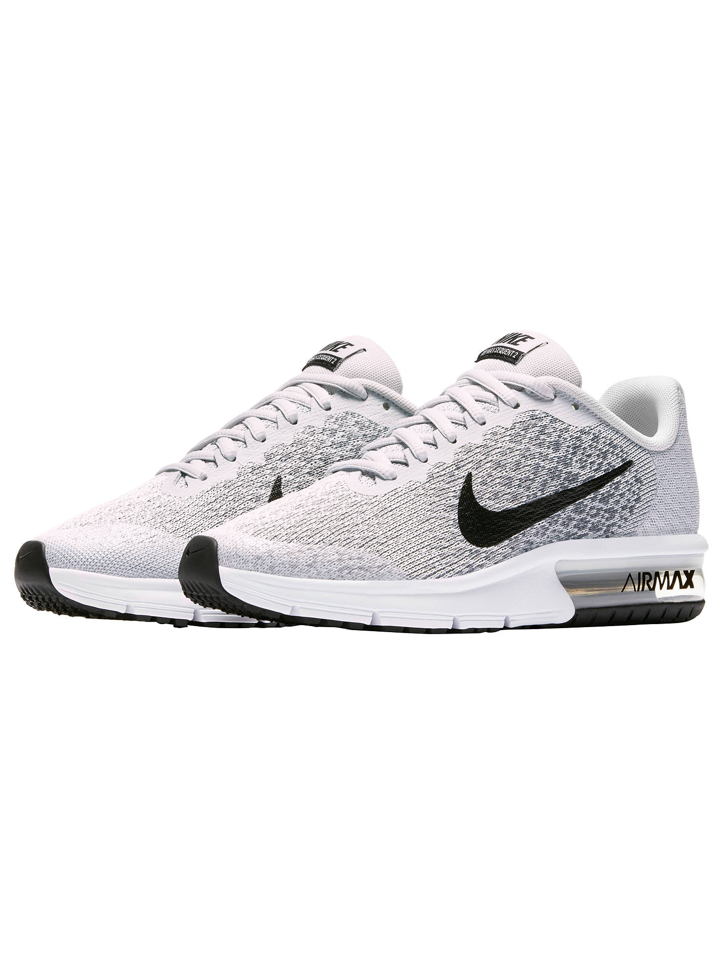 Nike Children's Air Max Sequent 2 Trainers, Grey Grey at