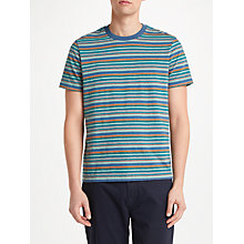 Buy John Lewis James Stripe T-Shirt, Navy/Grey Online at johnlewis.com