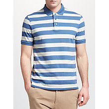 Buy John Lewis Breton Stripe Pique Polo Shirt Online at johnlewis.com
