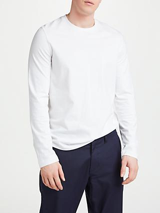 John Lewis & Partners Cotton Long Sleeve T-Shirt